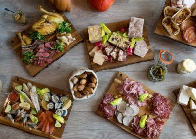 Exemple 2 de buffet dinatoire pour soirées au rooftop grenelle à paris