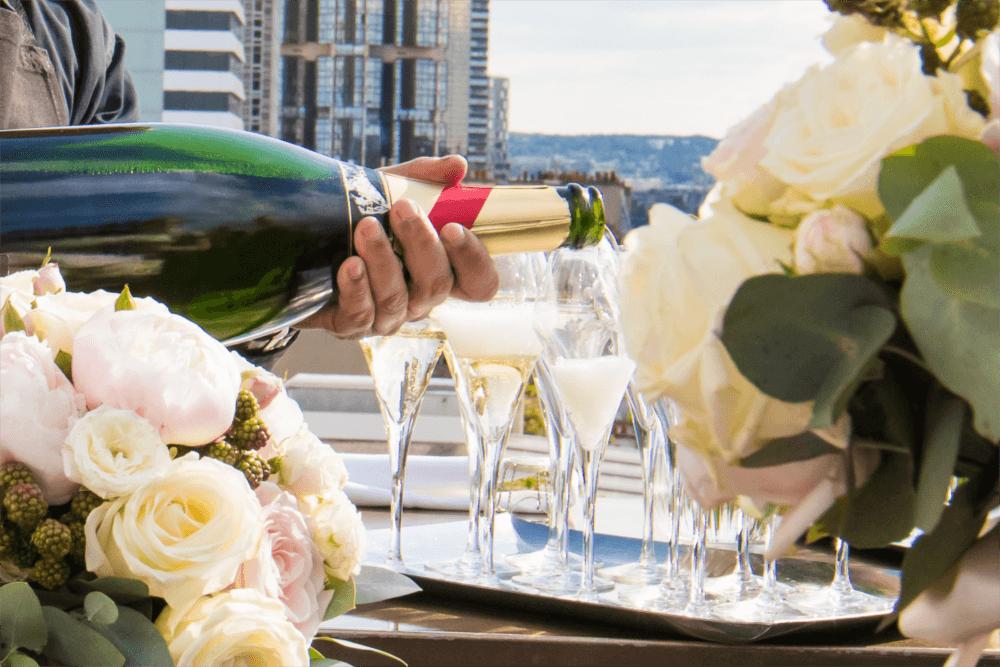 Dégustation de champagne rooftop grenelle