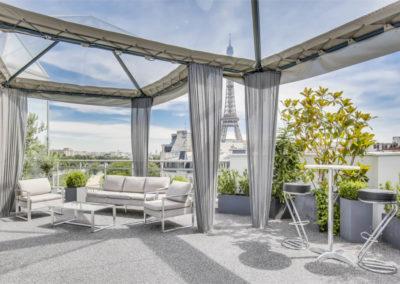 Rooftop Grenelle Paris
